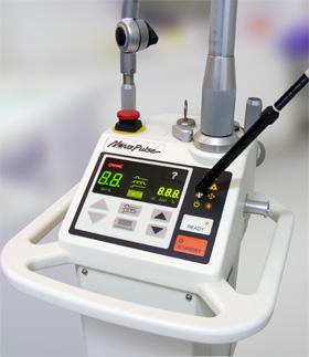 Einer der Laser in der Zahnärztlichen Privatpraxis Unger in Osnabrück